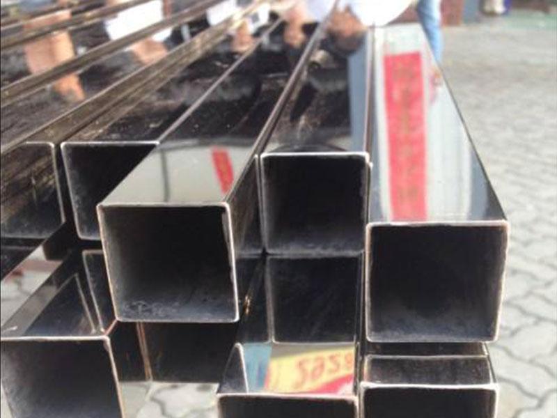 不锈钢装饰管方管-201